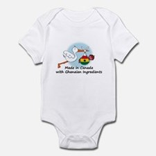 Stork Baby Ghana Canada Infant Bodysuit