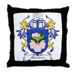 Morison Coat of Arms Throw Pillow