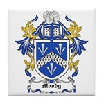 Moody Coat of Arms Tile Coaster