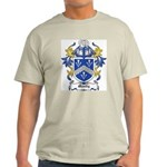 Moody Coat of Arms Ash Grey T-Shirt