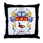 Mikieson Coat of Arms Throw Pillow