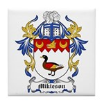Mikieson Coat of Arms Tile Coaster