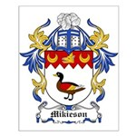 Mikieson Coat of Arms Small Poster