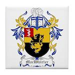 MacWhirter Coat of Arms Tile Coaster