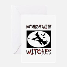 WITCHES Greeting Card