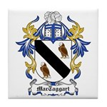 MacTaggart Coat of Arms Tile Coaster