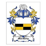 MacRery Coat of Arms Small Poster