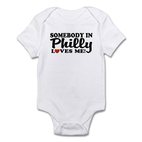 CafePress - Somebody in Philly Loves Me Infant Creeper