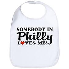 Somebody in Philly Loves Me Bib