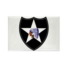 3rd Brigade, 2nd Infantry Division Rectangle Magne