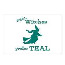 Teal Witch Postcards (Package of 8)
