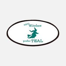 Teal Witch Patches