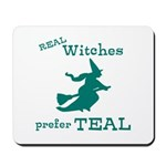 Teal Witch Mousepad