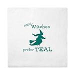 Teal Witch Queen Duvet