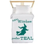 Teal Witch Twin Duvet