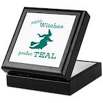 Teal Witch Keepsake Box