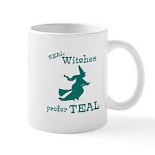 Teal Witch Mug