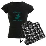Teal Witch Women's Dark Pajamas