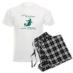 Teal Witch Men's Light Pajamas