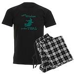 Teal Witch Men's Dark Pajamas