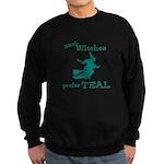 Teal Witch Sweatshirt (dark)