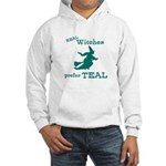 Teal Witch Hooded Sweatshirt