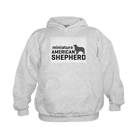 Mini American Shepherd Kids Hoodie