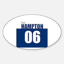 Hampton 06 Oval Decal