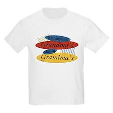 What Happens At Grandma's Kids T-Shirt