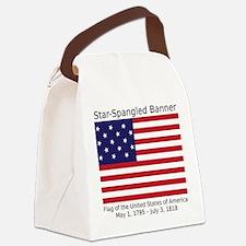 Star-Spangled Banner (Light) Canvas Lunch Bag