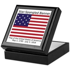 Star-Spangled Banner (Light) Keepsake Box