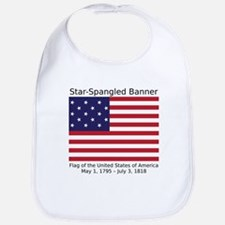 Star-Spangled Banner (Light) Bib