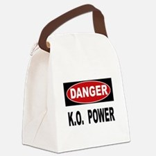 K.O. Power Canvas Lunch Bag