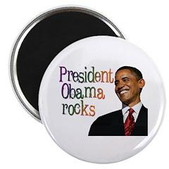 President Obama Rocks Magnet