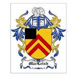 MacLeish Coat of Arms Small Poster