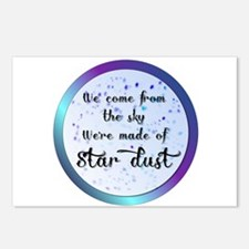 Were all made of Star Dust Postcards (Package of 8