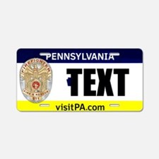 Pennsylvania Firefighter Custom License Plate