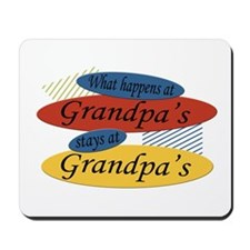 What Happens At Grandpa's Mousepad