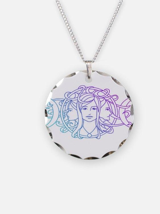 Triple Goddess Necklace