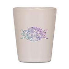 Triple Goddess Shot Glass