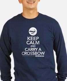 Keep Calm Carry a Crossbow Long Sleeve T-Shirt