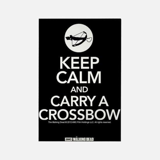 Keep Calm Carry a Crossbow Magnet