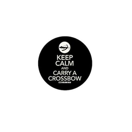 Keep Calm Carry a Crossbow Mini Button