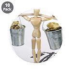 Balancing Buckets of Gold 3.5