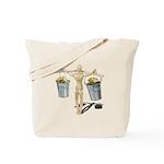Balancing Buckets of Gold Tote Bag