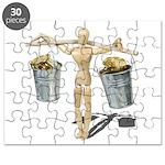 Balancing Buckets of Gold Puzzle
