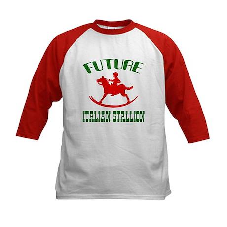 Future Italian Stallion Kids Baseball Jersey