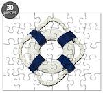 Blank Life Preserver Puzzle