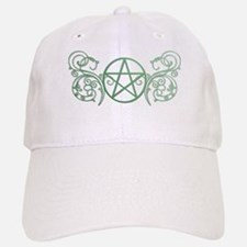 Pretty green pentacle Cap