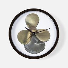 Ship Propeller Wall Clock